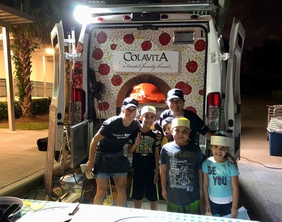 Family Night at Lloyd Estates Elementary in Broward County, Florida Includes Free Pizza, Kids Bike Safety and Giveaways through Colavita Cares Campaign