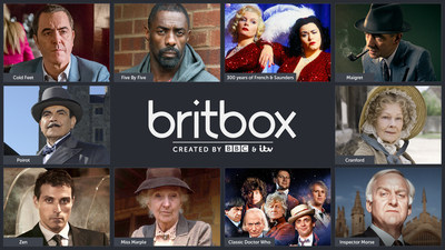 BritBox launches in Canada (CNW Group/BBC Worldwide)