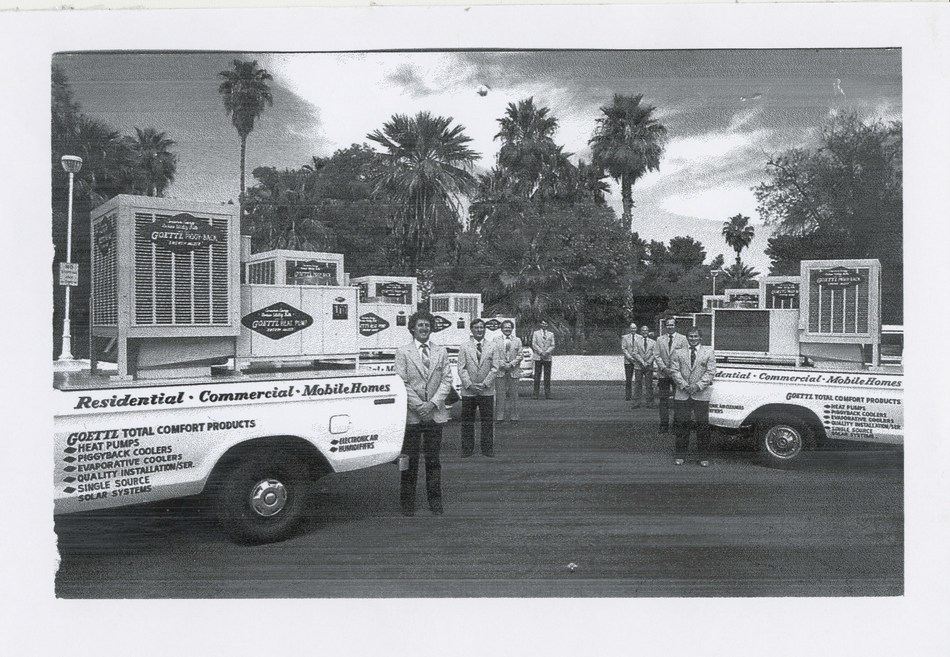 Goettl Air Conditioning was established in Phoenix on Feb. 14, 1939. The company has since grown and today serves consumers in Phoenix, Tucson, Las Vegas and Southern California.