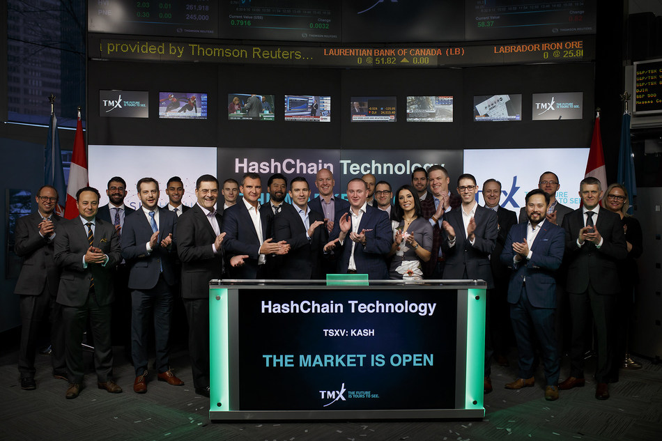 HashChain Technology Inc. Opens the Market (CNW Group/TMX Group Limited)