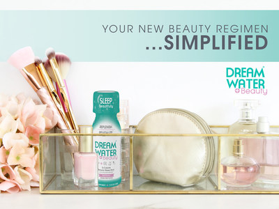 Dream Water, the #1 natural sleep shot in America, is now incorporating healthy hair, skin, nail & collagen support with the launch of its' easy to take, great tasting Dream Water Beauty shot