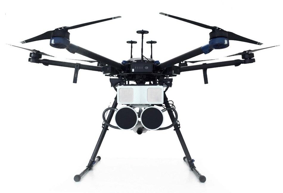 Fortem DroneHunter(TM): Counter UAS (PRNewsfoto/Fortem Technologies, Inc.)