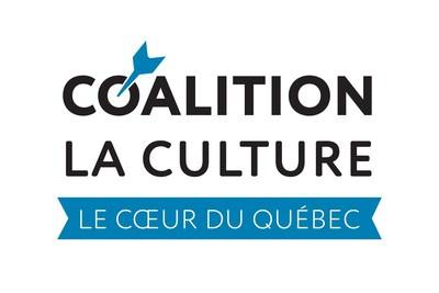 Logo : Coalition La culture, le cœur du Québec (Groupe CNW/Coalition La culture, le coeur du Québec)