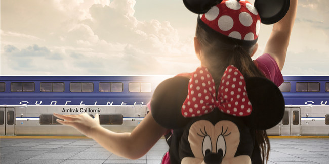 Southern California residents enjoy magical offers for train travel and theme park admission through May 21, 2018