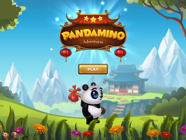 Pandamino splash screen