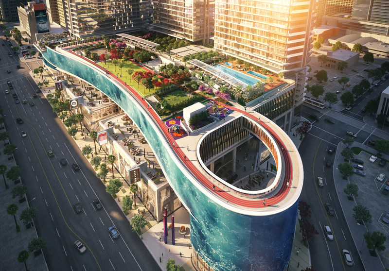 Oceanwide Plaza. Photo credit Williams New York.