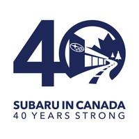 Subaru Celebrates 40 Years in Canada at 2018 Canadian International AutoShow (CNW Group/Subaru Canada Inc.)