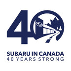 Subaru Celebrates 40 Years in Canada at 2018 Canadian International AutoShow (CNW Group/Subaru Canada Inc.)