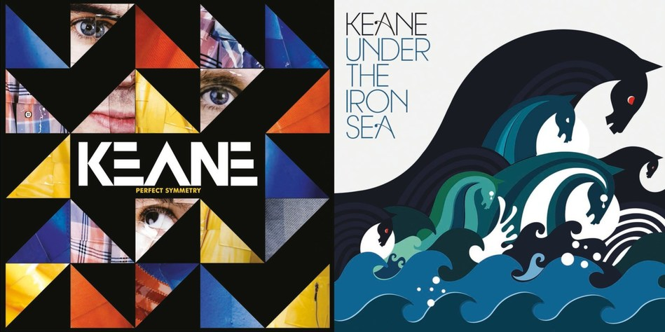 """On March 16, Interscope/UMe hails a pair of magical, key catalog releases from post-Britpop alt-rockers Keane (""""Somewhere Only We Know,"""" """"Everybody's Changing"""") with the 180-gram vinyl debuts of Perfect Symmetry and Under The Iron Sea"""