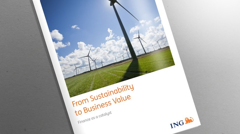 "ING Sustainability Report: ""From Sustainability to Business Value - Finance as a Catalyst"""