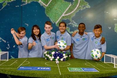 Gazprom足球友谊赛2018将团结来自211个国家和地区的孩子