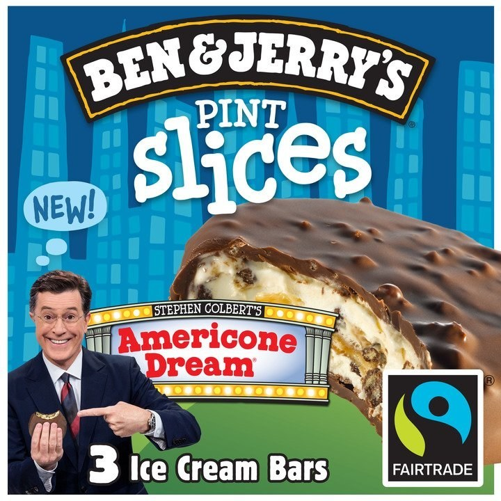 Ben Jerry S Celebrates 11 Years With Stephen Colbert Living The Americone Dream Photo courtesy of @benandjerrys on instagram. https www prnewswire com news releases ben jerrys celebrates 11 years with stephen colbert living the americone dream 300600572 html