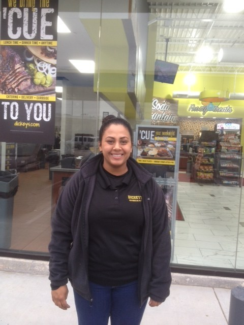 Current Dickey's franchisee, Kiran Momin, opens her second Dickey's Barbecue Pit location in Houston.