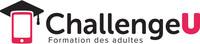 Logo : ChallengeU Formation générale des adultes (Groupe CNW/ChallengeU)