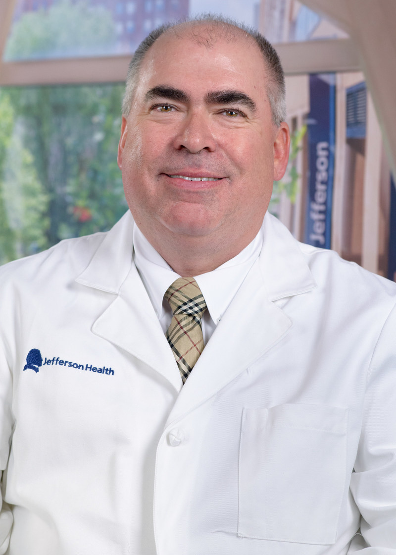 Dr. William B. Hughes, Medical Director of the Jefferson Burn Center