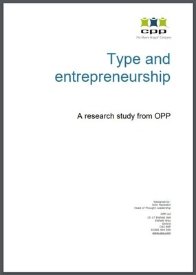 What is the MBTI type most likely to succeed as an entrepreneur? Download the full report at https://bit.ly/entrepreneurreport