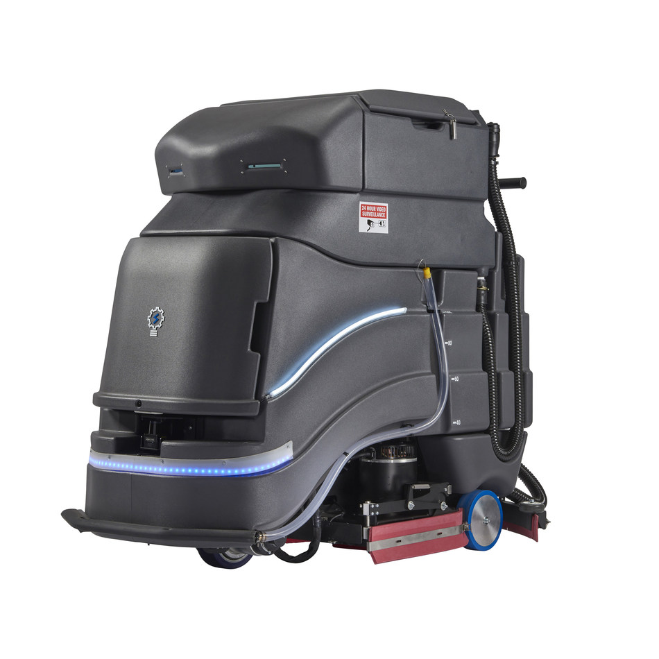 The Avidbots Neo autonomous floor cleaning robot empowers cleaning teams. (CNW Group/Avidbots)