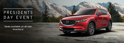 President's Day Event   Deals available on all new inventory at Vic Bailey Mazda