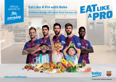 Beko is the international home appliance brand of Arcelik and a Global Premium Partner of FC Barcelona. It offers product lines including major appliances, air conditioners, small appliances. Beko is the leading freestanding home appliances brand in Europe in white goods sector and has been the fastest growing brand in overall European market between 2000-2016 With its leading position, Beko is one of the most important players in the UK's home appliances market ,holds top position in French freestanding and Polish total white goods markets. (PRNewsfoto/Beko)