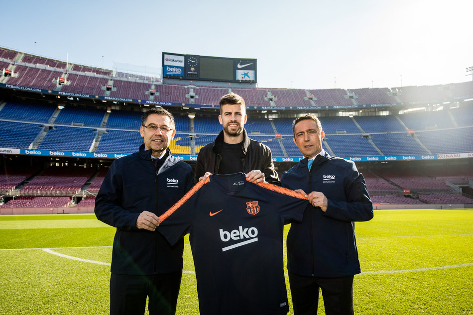 """Beko 'Eat Like A Pro' ambassador and FC Barcelona star Gerard Piqué comments: """"I am thrilled to be the ambassador for such an important and ground-breaking campaign. As I started to compete from such an early age, I grew to appreciate the importance of healthy eating and nutrition and now as a father of two, it feels even more important than ever before. The global statistics surrounding childhood obesity are shocking and are not showing any signs of improvement, which is why I am proud to be..."""
