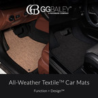 GGBAILEY Launches an Industry First All-Weather Textile™ Car Mats