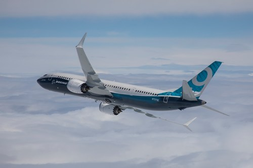 Boeing's new 737 MAX 9 has received FAA certification and is now being prepped for first delivery. Paul Weatherman photo.