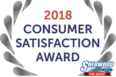 Sherwood Ford receives coveted DealerRater Dealer of the Year Award