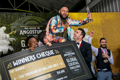New Zealand Bartender Wins Angostura® Global Cocktail Challenge 2018