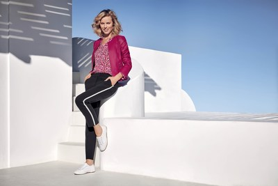 Under the creative direction of Donald Schneider, the campaign was photographed by Pamela Hanson in Santorini. (PRNewsfoto/Gerry Weber International AG)