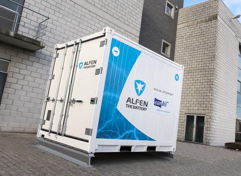Alfen to supply energy storage system to Belgian grid operator Eandis to prepare for the future (PRNewsfoto/Alfen)