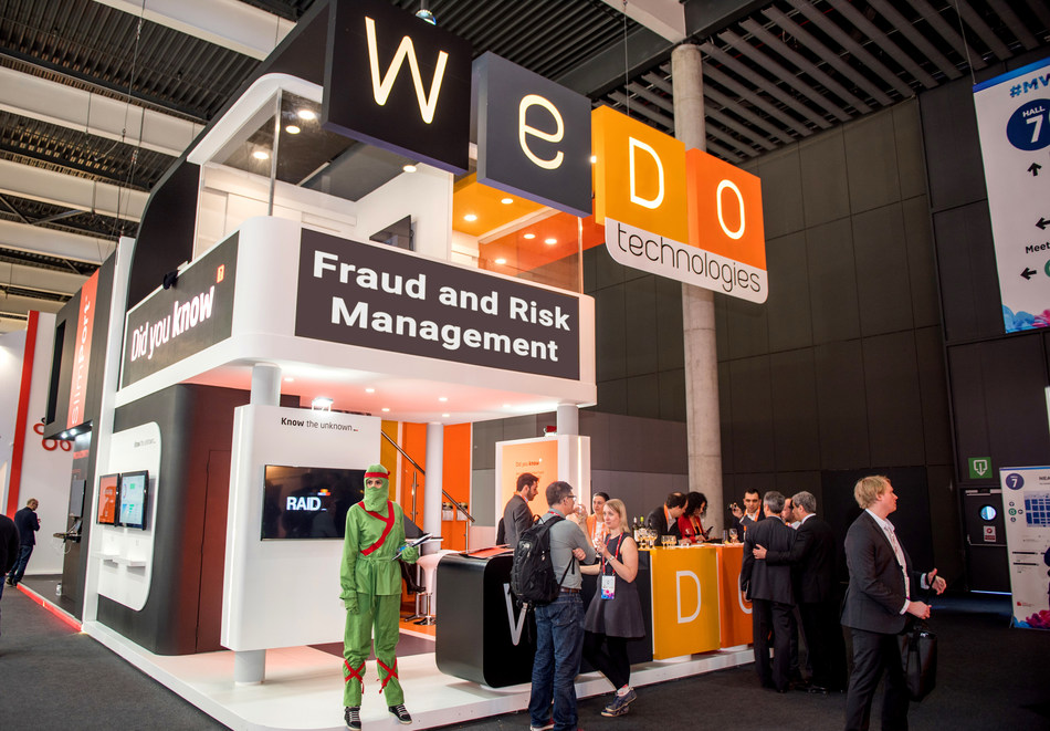 WeDo Technologies // Mobile World Congress, Hall 7 - G10 (PRNewsfoto/WeDo Technologies)