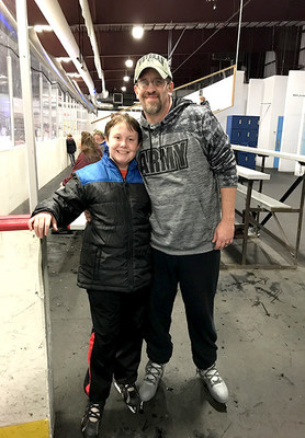 The Weiss family enjoying a recent WWP Ice Skating event in Grand Junction, Colorado.