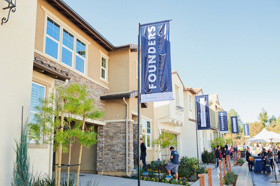Trumark Homes welcome over 1,000 attendees at the Grand Opening of the Founders model homes.