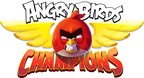 Ready, Aim, Sling For Cash Prizes In WorldWinner And Rovio Entertainment's Angry Birds Champions