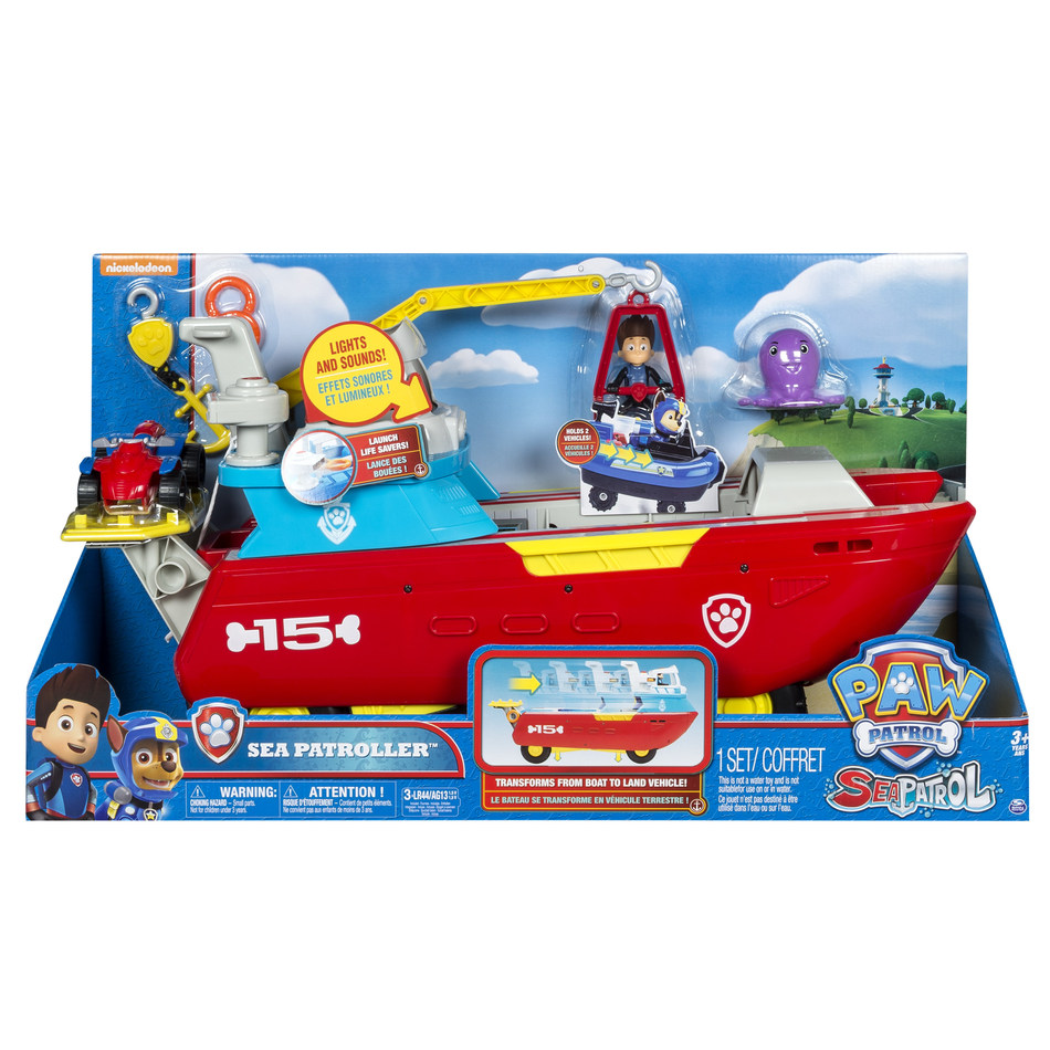 Vehicle of the Year – PAW Patrol Sea Patroller (CNW Group/Spin Master)