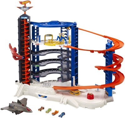 Mattel' Wins Toy Of The Year Award For The Hot Wheels' Super Ultimate Garage In The Playset Of The Year Category