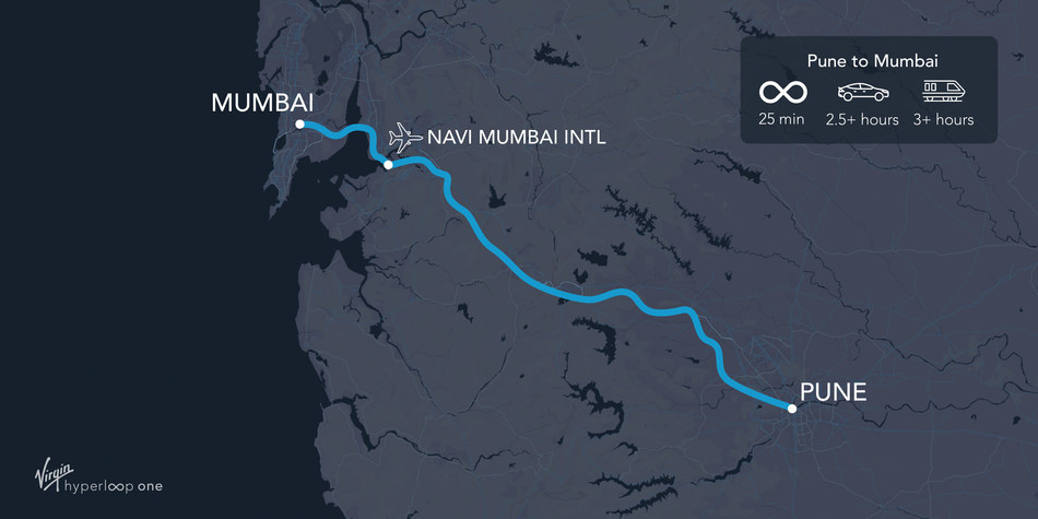 Pune to Mumbai in 25 minutes via hyperloop