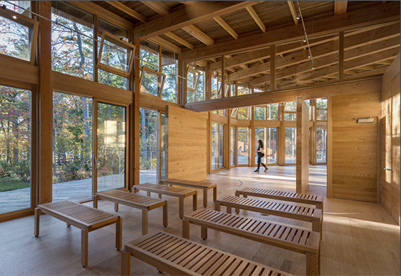 Winner: Wood in Government Buildings Maryann Thompson Architects, photo Chuck Choi