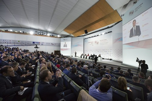 Gaidar Forum: Values and Virtues. Plenary discussion with Dmitry Medvedev. (January 16, 2018) (PRNewsfoto/RANEPA)