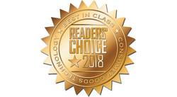 Consumer Goods Technology Readers' Choice 2018