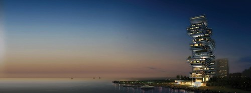One Palm will be the first residential development in the Middle East to be managed by Dorchester Collection. (PRNewsfoto/Omniyat)