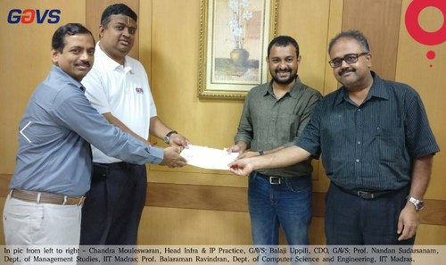 GAVS Technologies and IIT Madras to Pursue Joint Research and Innovation in Artificial Intelligence and Analytics (PRNewsfoto/GAVS Technologies)