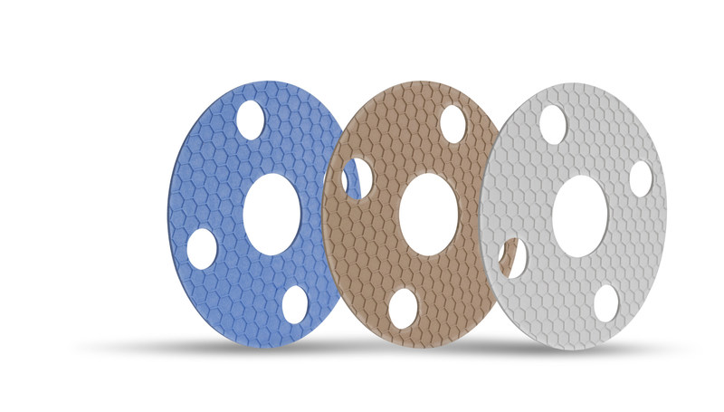 GYLON EPIX™ - The next generation in PTFE gasketing featuring superior compressibility and sealing.