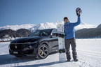 British Snowboard sensation Jamie Barrow breaks Guinness World Record for fastest speed on a snowboard, towed by a vehicle (Maserati Levante)