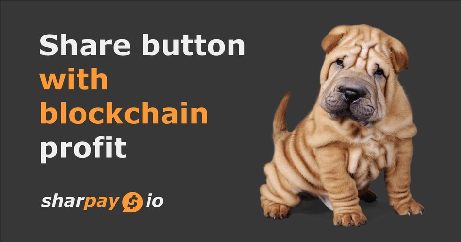 Sharpay Share Buttons Successfully Raised 2400 EHT in Presale and Announcing Token Sale (PRNewsfoto/Sharpay)