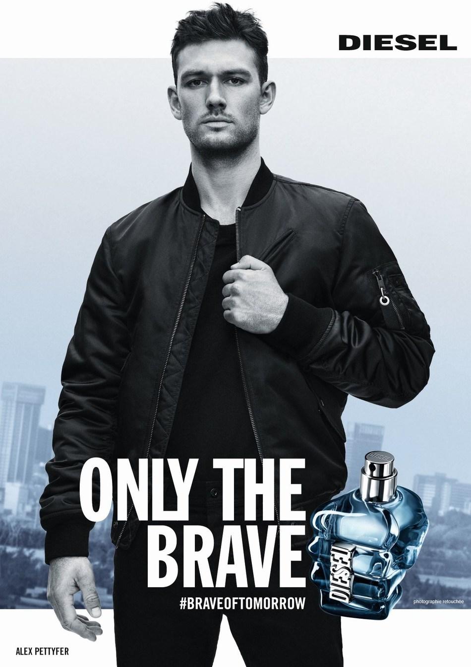Diesel Only The Brave Fragrance New Campaign, Redefining Bravery (PRNewsfoto/Diesel Fragrances)