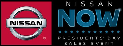 part of flyer for the Nissan Now sales event, which is happening now at Fenton Nissan of Tiffany Springs.