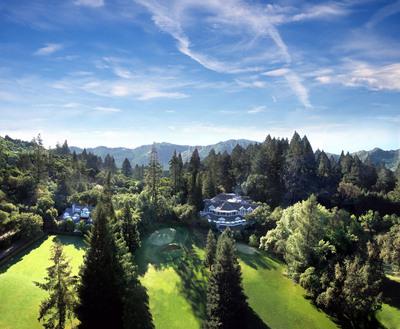 Aerial view of Meadowood Napa Valley. (PRNewsFoto/Meadowood Napa Valley)