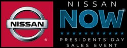 part of flyer for the Nissan Now sales event, which is happening now at Fenton Nissan of Lee's Summit.