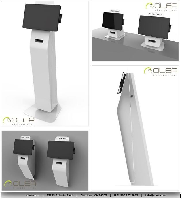 Family of products from Olea Kiosks, Inc.